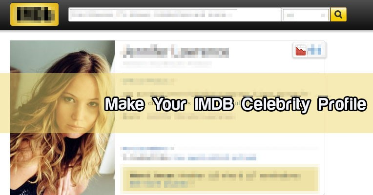 Click Here To Use Make Your IMDB Celebrity Profile